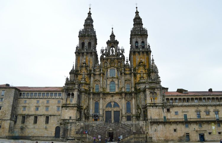 La cattedrale di Compostela