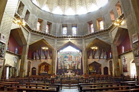 la Visitazione e la Chiesa della Dormizione